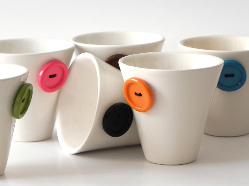 Clay ceramiche puzzo for Tazzine caffe moderne